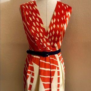 EVA FRANCO Nautical Summer Dress (4)